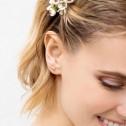 Pendientes de novia trepadores oro rosa18k (75R0110Z)