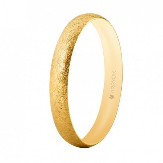 Alianza boda oro 18k hielo confort 3,3 mm (5135513H)