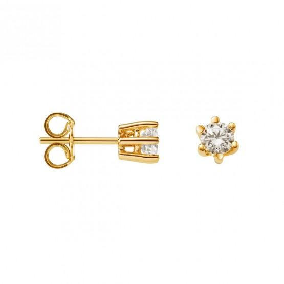 Pendientes de Diamantes en oro 18k (75A0102)