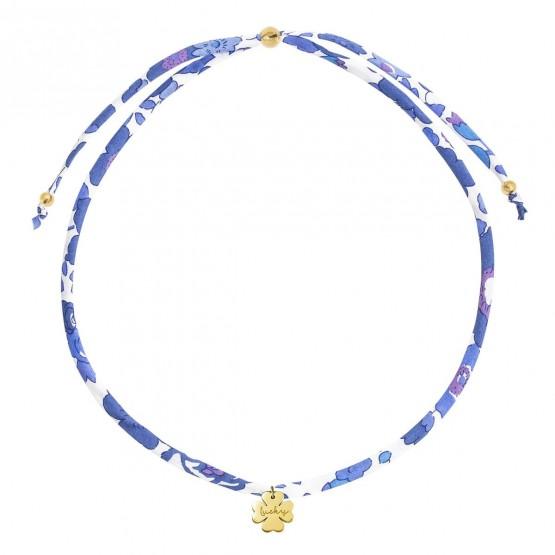 Gargantilla Liberty con colgante Trébol plata dorada (3A8307508)