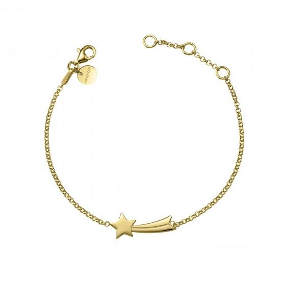 Pulsera de plata dorada de ley 925 Estrella Fugaz (4A8307312)