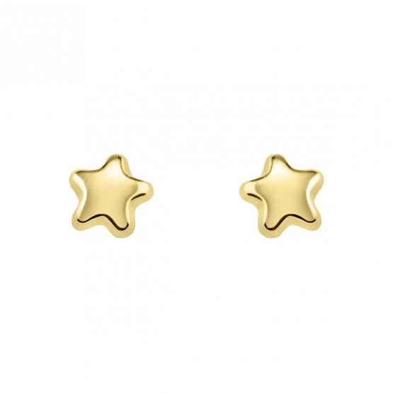 Pendientes de bebé con forma de estrella (03260900)