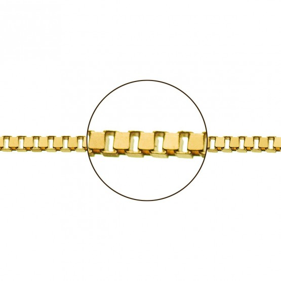 cb34b0d5b97a Cadena de oro amarillo 18k veneciana (033113054)