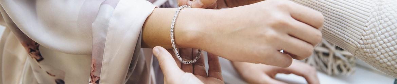 Pulseras para novias de oro y plata | Argyor.es
